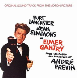 Elmer Gantry Soundtrack (André Previn) - CD cover