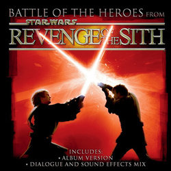 Battle of the Heroes from Star Wars Revenge of the Sith Μουσική υπόκρουση (John Williams) - Κάλυμμα CD