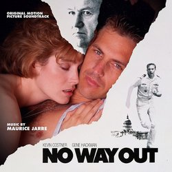 No Way Out Soundtrack (Maurice Jarre) - Carátula