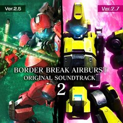 Border Break Airburst 2 Soundtrack (SEGA ) - CD-Cover