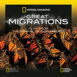 Great Migrations Soundtrack (Anton Sanko) - CD cover