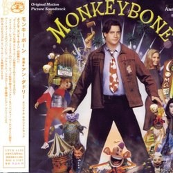 Monkeybone Soundtrack (Anne Dudley) - CD cover