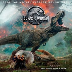 Jurassic World: Fallen Kingdom Soundtrack (Michael Giacchino) - CD cover