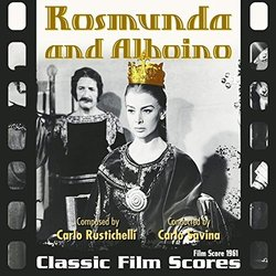 Rosmunda and Alboino Soundtrack (Carlo Rustichelli) - CD cover