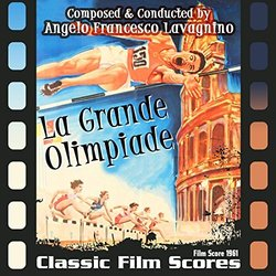 La Grande Olimpiade Soundtrack (Angelo Francesco Lavagnino) - CD cover