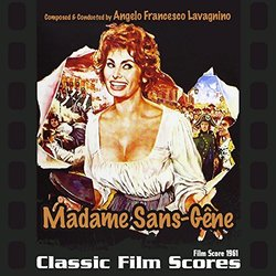 Madame Sans-Gêne Soundtrack (Angelo Francesco Lavagnino) - CD cover
