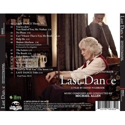 Last Dance Soundtrack (Michael Allen) - CD Achterzijde