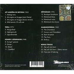 Att Angora En Brygga: Soundtracks & Rehearsals Soundtrack (Lasse Färnlöf) - CD Back cover