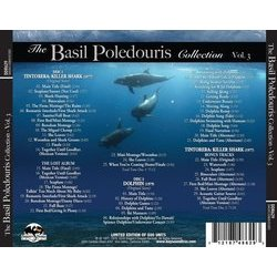 The Basil Poledouris Collection - Vol.3 Soundtrack (Basil Poledouris) - CD Back cover