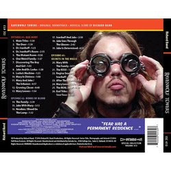 Ravenwolf Towers Soundtrack (Richard Band) - CD Back cover
