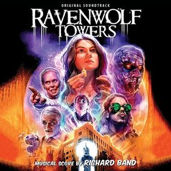 Ravenwolf Towers Soundtrack (Richard Band) - CD cover