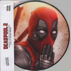 Deadpool 2 Soundtrack (Tyler Bates) - CD cover