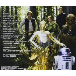 Star Wars VI: Return Of The Jedi Soundtrack (John Williams) - CD Back cover