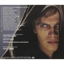 Star Wars III: Revenge Of The Sith Soundtrack (John Williams) - CD Back cover