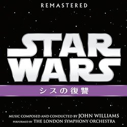 Star Wars III: Revenge Of The Sith Soundtrack (John Williams) - CD cover