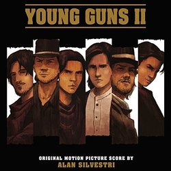 Young Guns II Soundtrack (Alan Silvestri) - CD cover