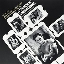 A Streetcar Named Desire Soundtrack (Alex North) - CD cover