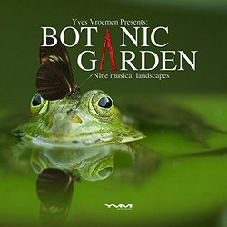 Botanic Garden Soundtrack (Yves Vroemen) - CD cover