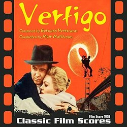 Vertigo Soundtrack (Bernard Herrmann) - CD-Cover