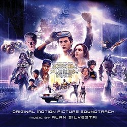 Ready Player One Bande Originale (Alan Silvestri) - Pochettes de CD