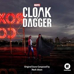 Cloak & Dagger Soundtrack (Mark Isham) - Carátula