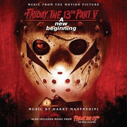 Friday The 13th: Parts 4 & 5 Soundtrack (Harry Manfredini) - CD cover