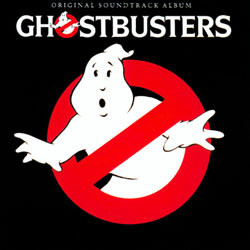Ghostbusters Soundtrack (Various Artists, Elmer Bernstein) - CD cover