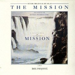 The Mission Soundtrack (Ennio Morricone) - CD cover