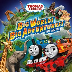 Big World! Big Adventures! The Movie Soundtrack (Chris Renshaw) - CD cover
