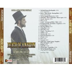 Death Of A Nation Soundtrack (Dennis McCarthy) - CD Back cover