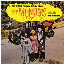 The Munsters Soundtrack (Various Artists) - CD cover