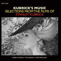 Kubrick's Music: Selections From The Films Of Stanley Kubrick Soundtrack (Various Artists) - CD cover