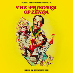 The Prisoner of Zenda Soundtrack (Henry Mancini) - CD cover