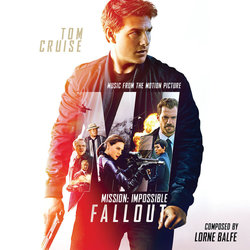 Mission: Impossible - Fallout Soundtrack (Lorne Balfe, Lalo Schifrin) - CD-Cover