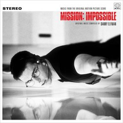 Mission: Impossible Soundtrack (Danny Elfman) - CD cover