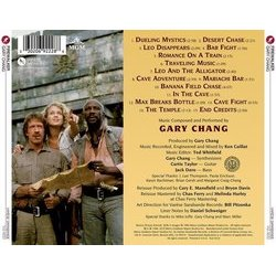 Firewalker Soundtrack (Gary Chang) - CD Back cover