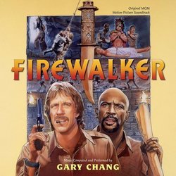 Firewalker Soundtrack (Gary Chang) - CD cover