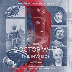 Doctor Who: The Invasion Soundtrack (Don Harper, Brian Hodgson) - CD cover