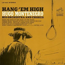 Hang 'Em High Soundtrack (Various Artists, Hugo Montenegro and His Orchestra and Chorus) - CD cover