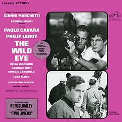 The Wild Eye Soundtrack (Gianni Marchetti) - CD cover