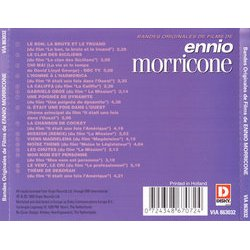 Film Music by Ennio Morricone Soundtrack (Ennio Morricone) - CD-Rückdeckel