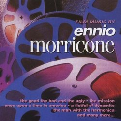 Film Music by Ennio Morricone Soundtrack (Ennio Morricone) - CD-Cover