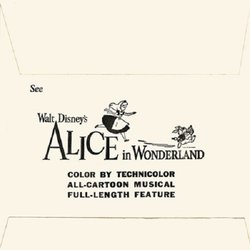 Alice in Wonderland Soundtrack (Various Artists, Oliver Wallace) - cd-inlay