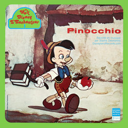 Pinocchio Soundtrack (Sophie Desmarets, Leigh Harline, Paul J. Smith) - CD cover
