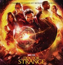 Doctor Strange Soundtrack (Michael Giacchino) - CD-Cover