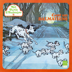 Cent un Dalmatiens Soundtrack (Various Artists, George Bruns, Jacques Duby) - Carátula