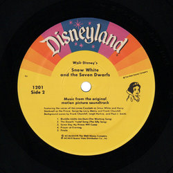 Snow White and the Seven Dwarfs 声带 (Adriana , Frank Churchill, Walt Disney Studio Chorus, The Dwarf Chorus, Leigh Harline, Paul J. Smith, Harry Stockwell) - CD-镶嵌