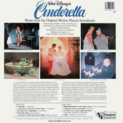 Cinderella 声带 (Stanley Andrews, Various Artists, Paul J. Smith, Oliver Wallace) - CD后盖