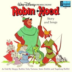 Film Music Site Robin Hood Soundtrack George Bruns Disneyland