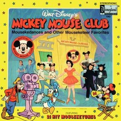 Mickey Mouse Club Soundtrack (Various Artists, Jimmie Dodd, Annette Funicello, The Mouseketeers Chorus) - CD cover